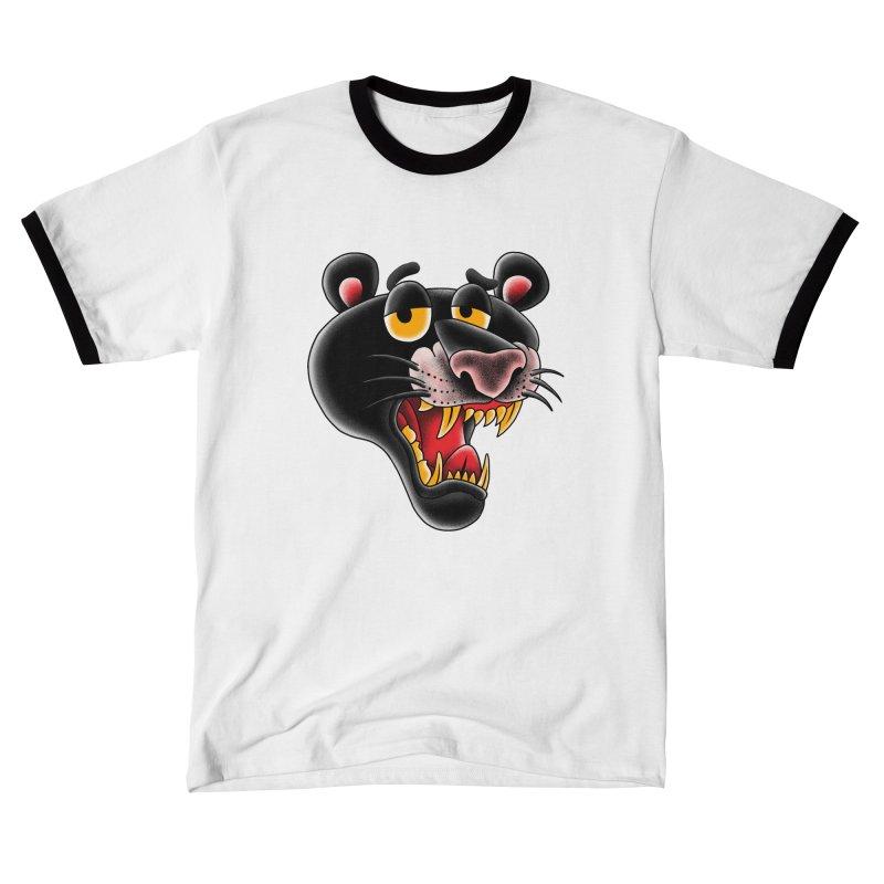 Black Panther Men's T-Shirt by kooky love's Artist Shop