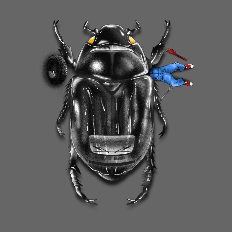 Beetle Car Men's T-Shirt by kooky love's Artist Shop