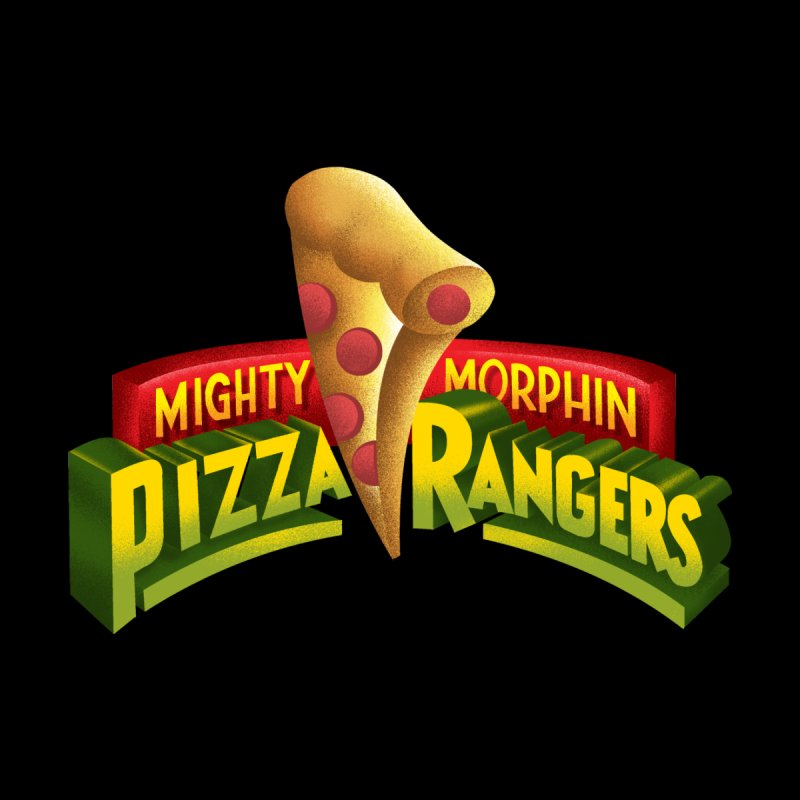 Pizza Rangers Men's T-Shirt by kooky love's Artist Shop