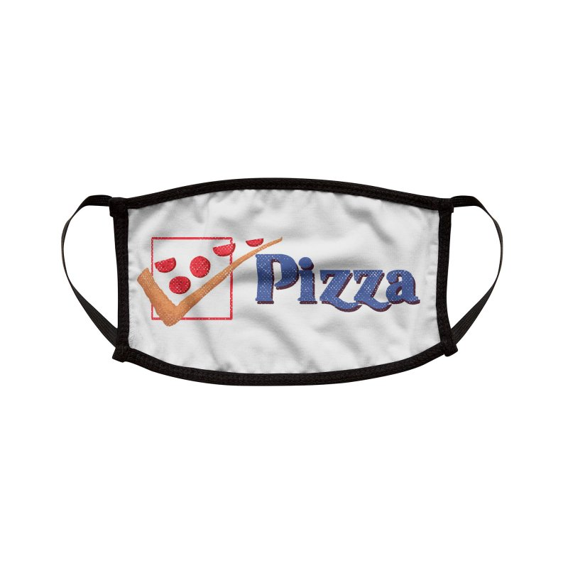 Pizza for President Accessories Face Mask by kooky love's Artist Shop