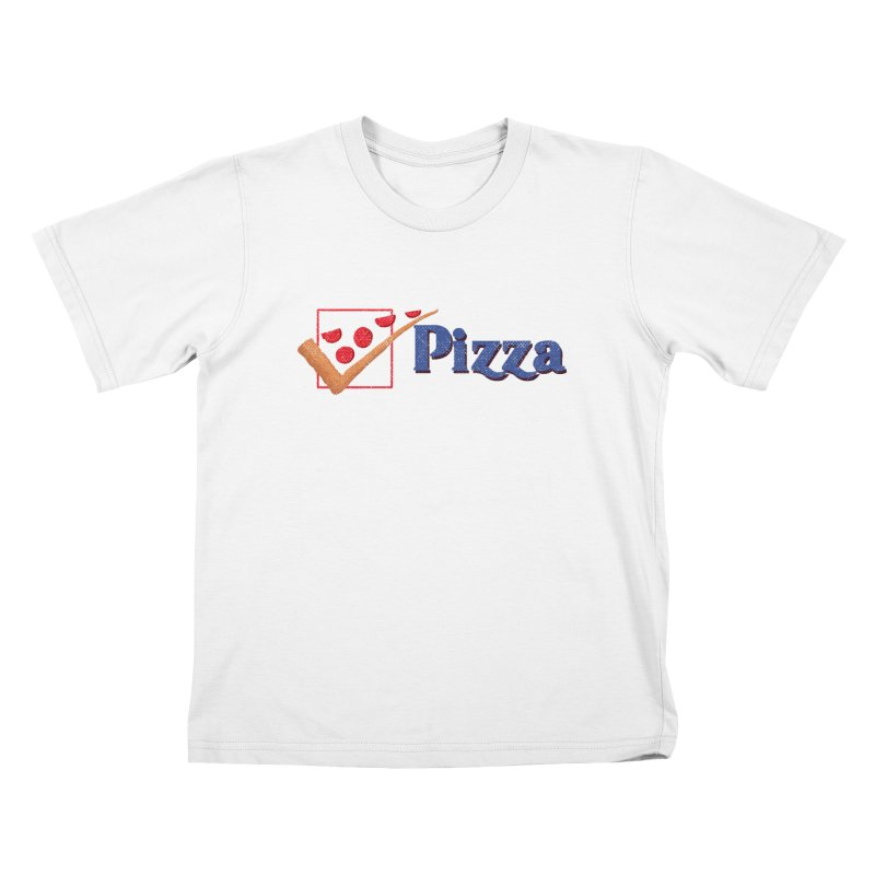 Pizza for President Kids T-Shirt by kooky love's Artist Shop