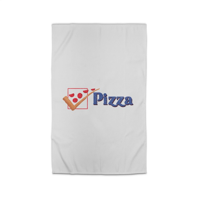 Pizza for President Home Rug by kooky love's Artist Shop