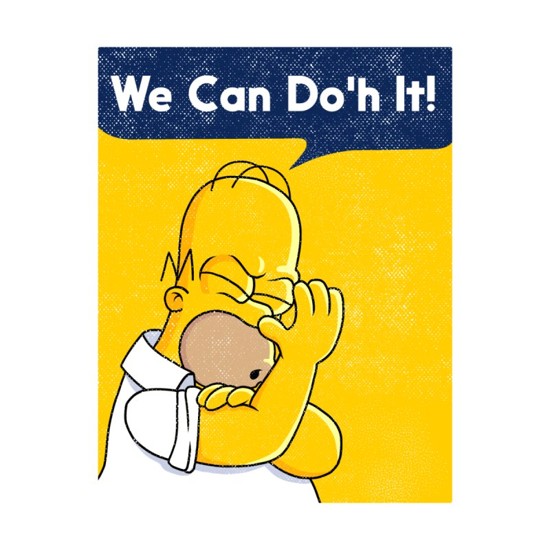 We Can Do'h It Home Rug by kooky love's Artist Shop