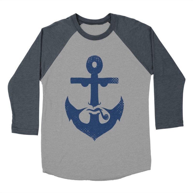 Naughtical Men's Baseball Triblend T-Shirt by kooky love's Artist Shop