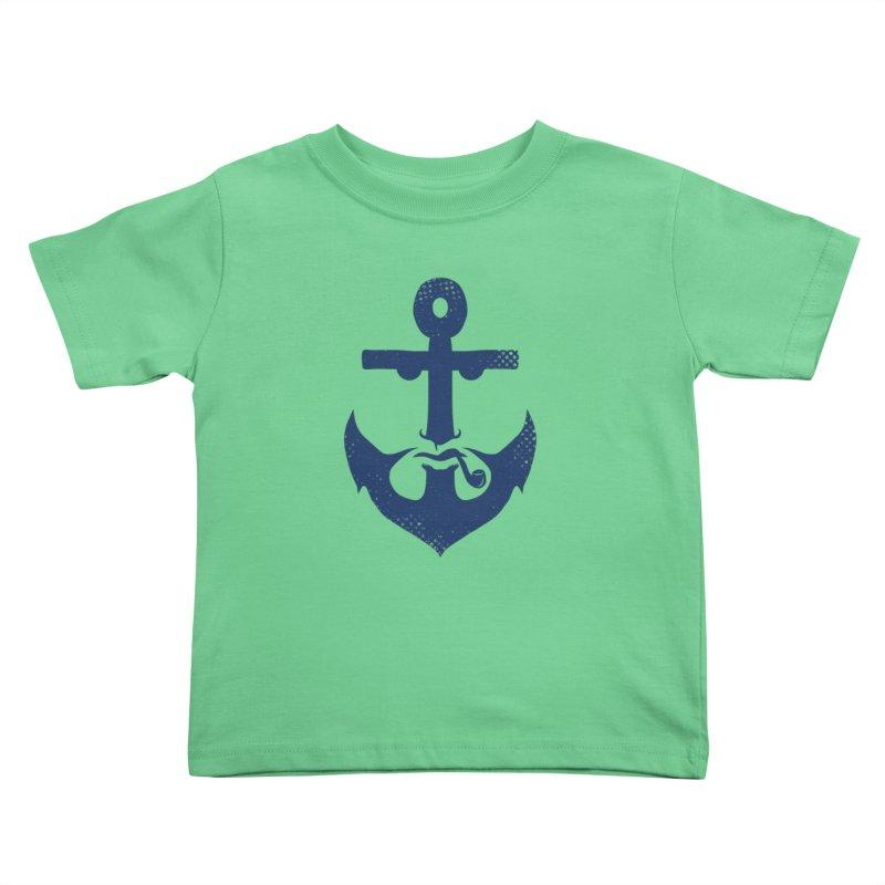 Naughtical Kids Toddler T-Shirt by kooky love's Artist Shop