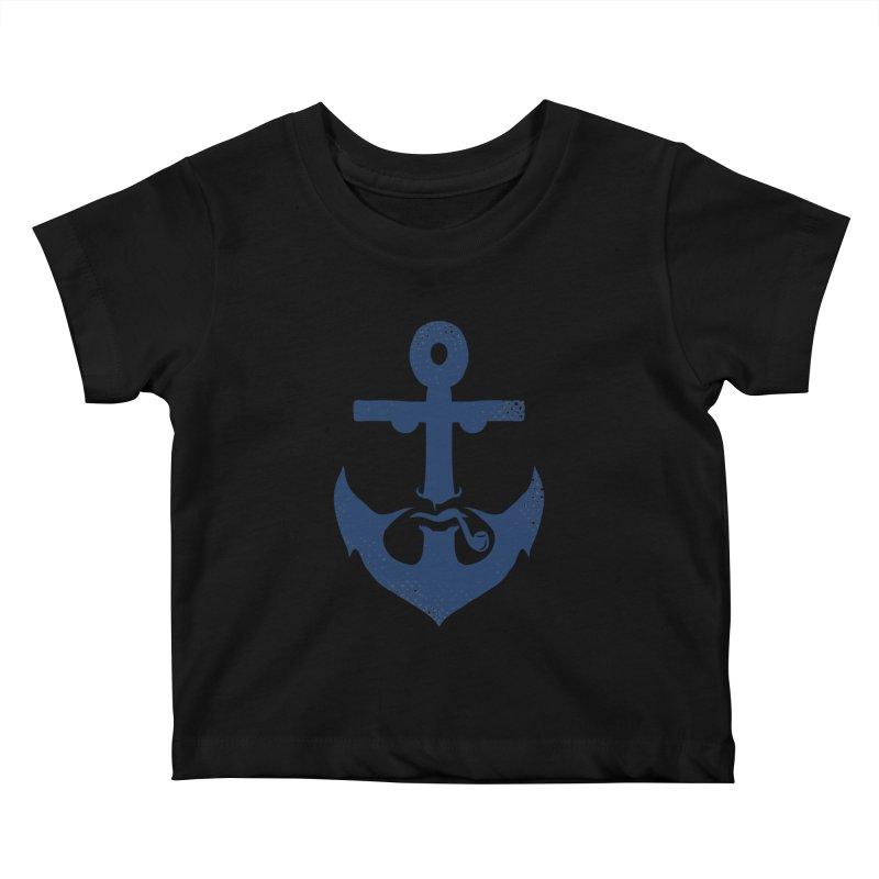 Naughtical Kids Baby T-Shirt by kooky love's Artist Shop
