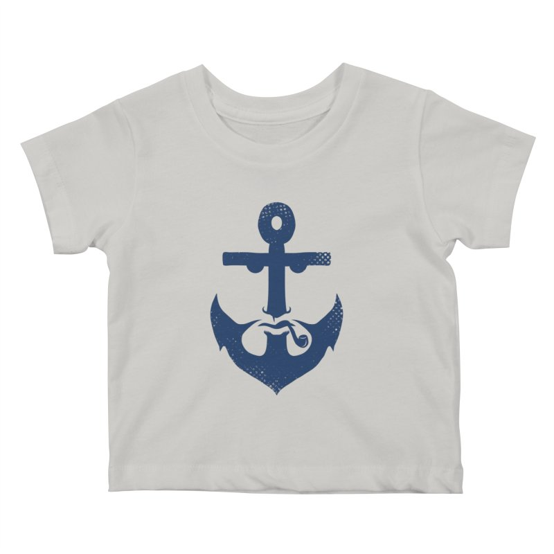 Naughtical Kids Baby T-Shirt by kooky love's Artist Shop