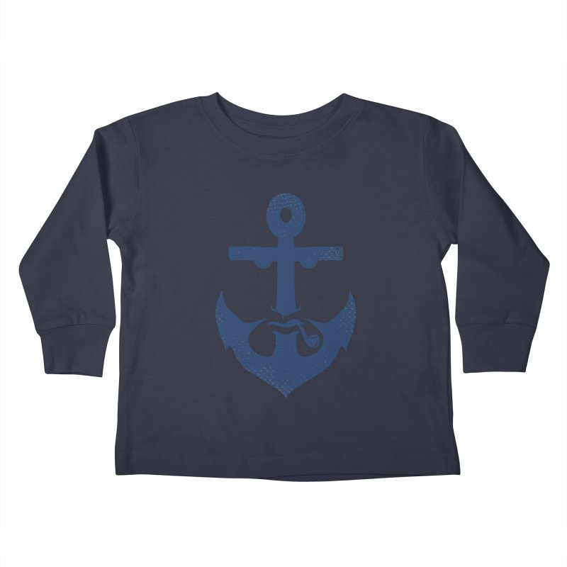 Naughtical Kids Toddler Longsleeve T-Shirt by kooky love's Artist Shop