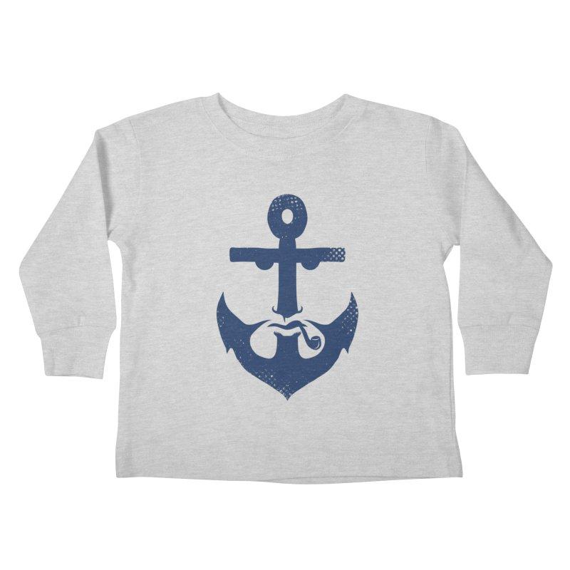 Naughtical Kids Toddler Longsleeve T-Shirt by kooky love's Artist Shop