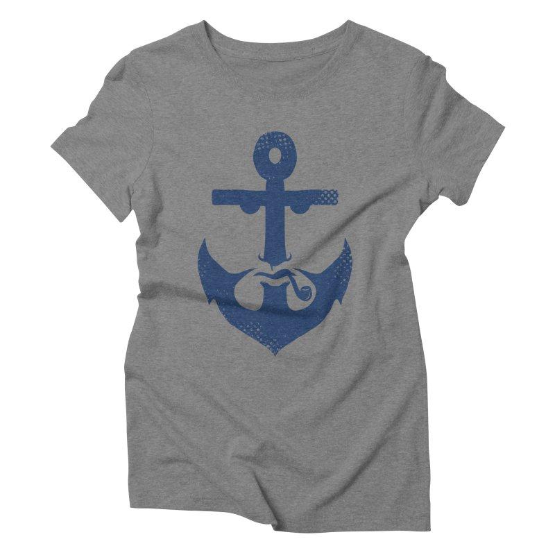 Naughtical Women's Triblend T-shirt by kooky love's Artist Shop