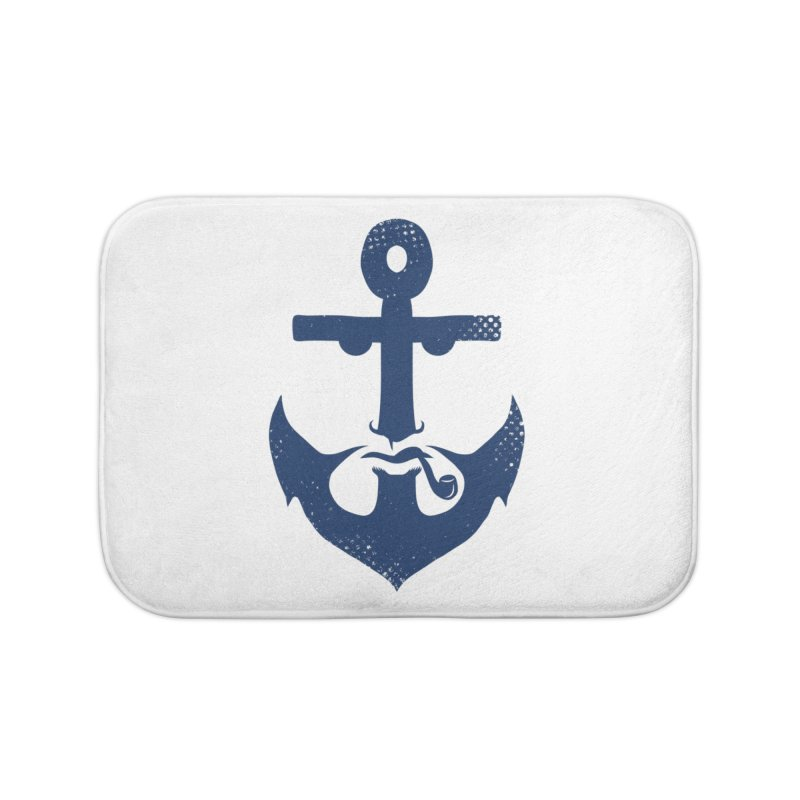 Naughtical Home Bath Mat by kooky love's Artist Shop