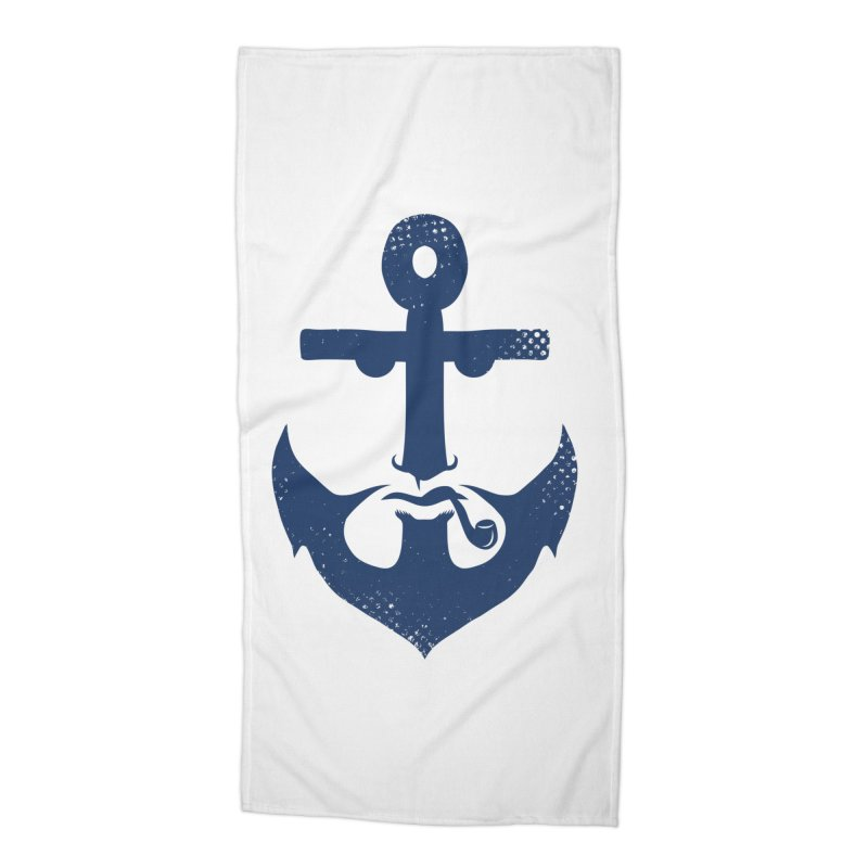 Naughtical Accessories Beach Towel by kooky love's Artist Shop