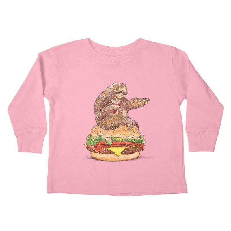 Going Nowhere Kids Toddler Longsleeve T-Shirt by kooky love's Artist Shop