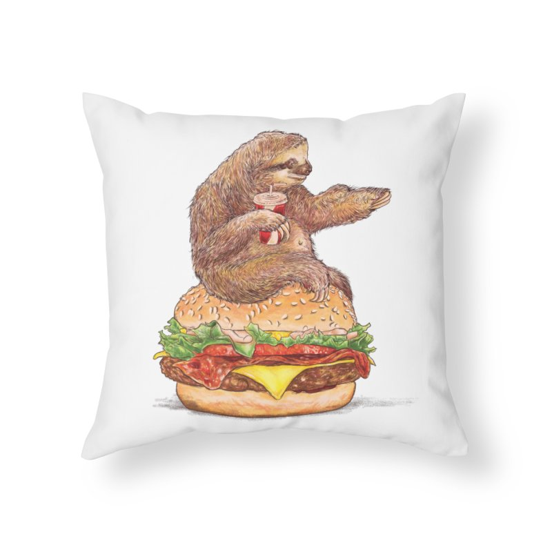 Going Nowhere Home Throw Pillow by kooky love's Artist Shop