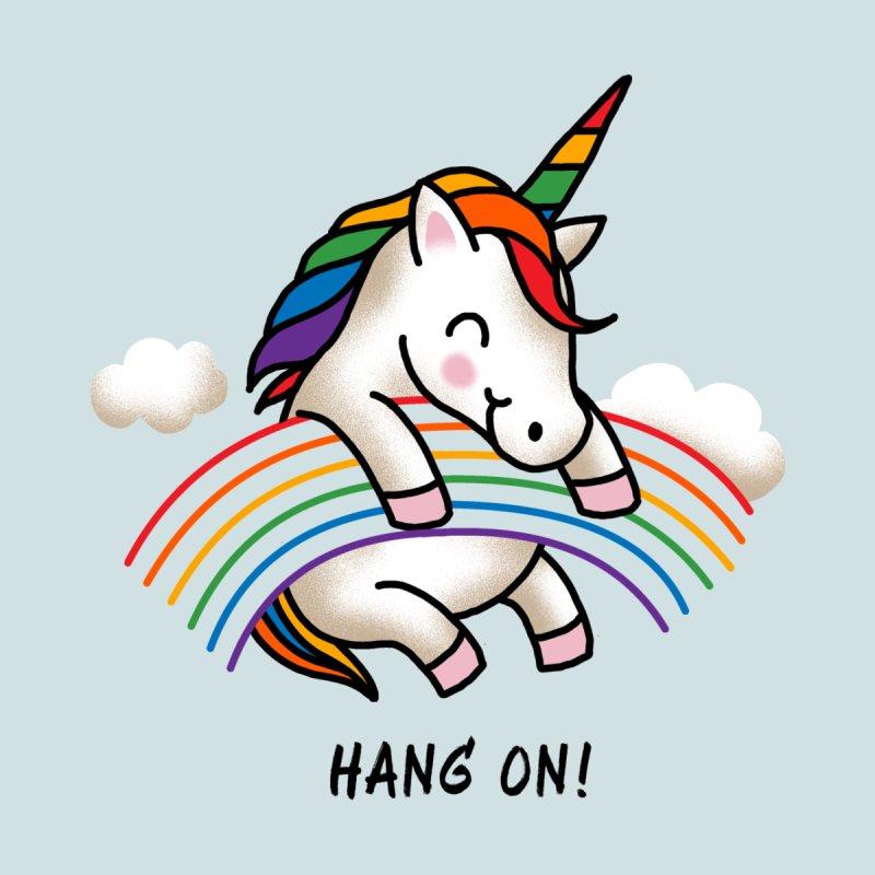 Hang On! Home Rug by kooky love's Artist Shop