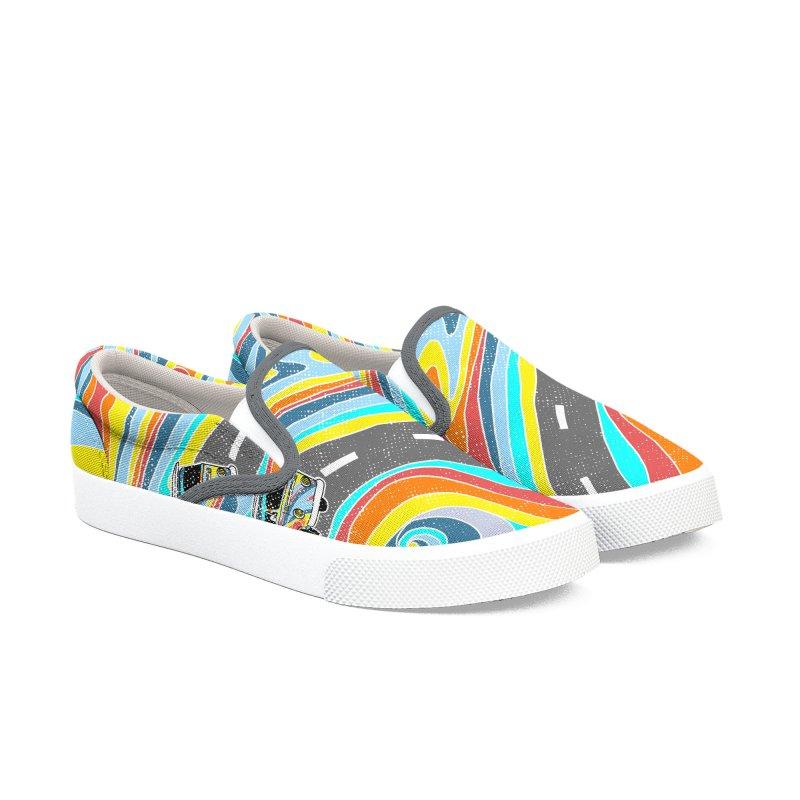 Road Trippin' Women's Shoes by kooky love's Artist Shop