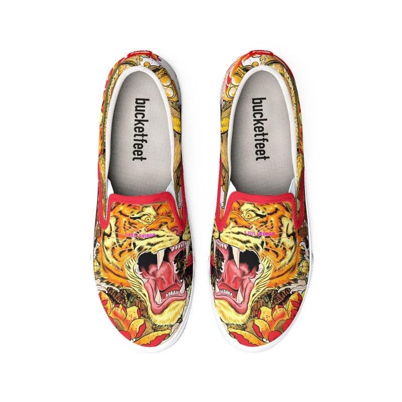 Shogun Tiger Women's Shoes by kooky love's Artist Shop