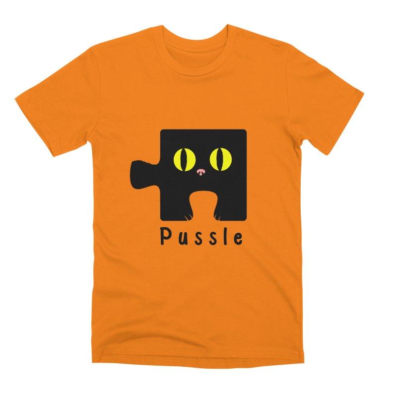 Pussle Men's T-Shirt by kooky love's Artist Shop