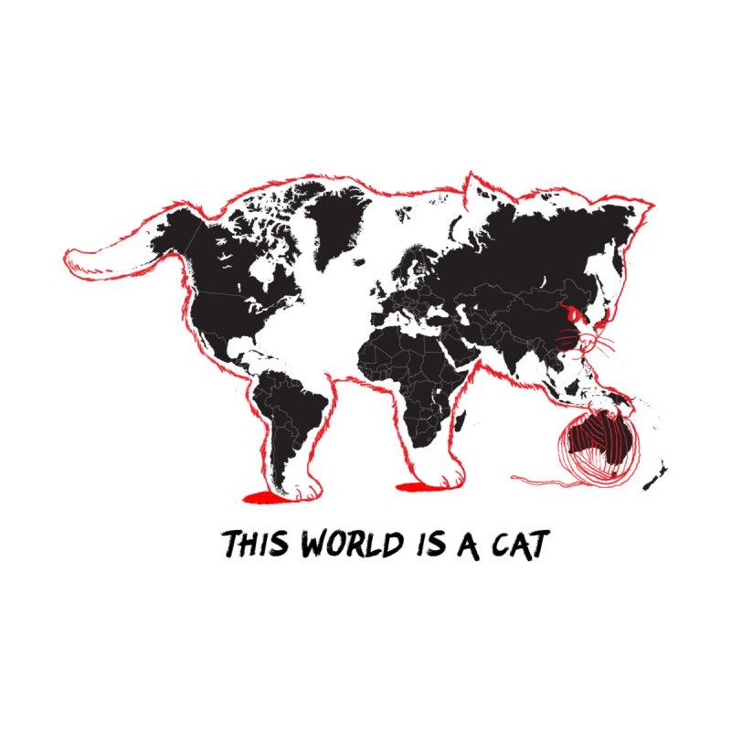This world is a cat Men's T-Shirt by kooky love's Artist Shop