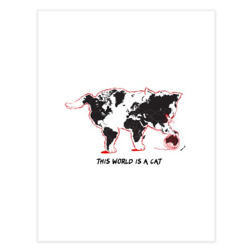 image for This world is a cat