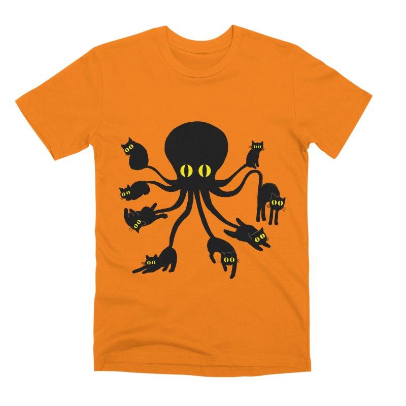 Octo Puss Men's T-Shirt by kooky love's Artist Shop
