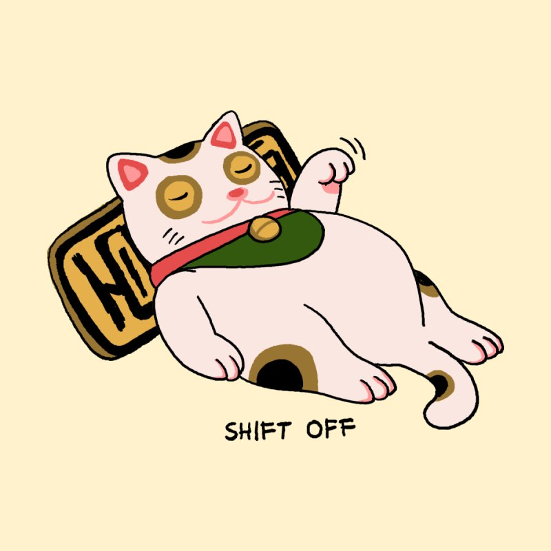 SHIFT OFF Men's T-Shirt by kooky love's Artist Shop