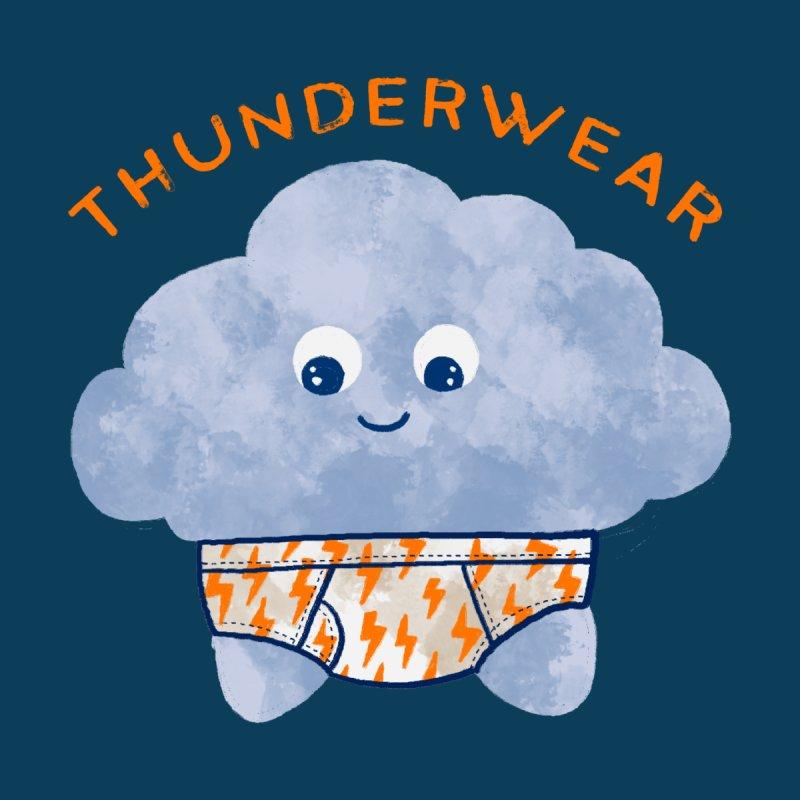 Thunderwear Men's T-Shirt by kooky love's Artist Shop