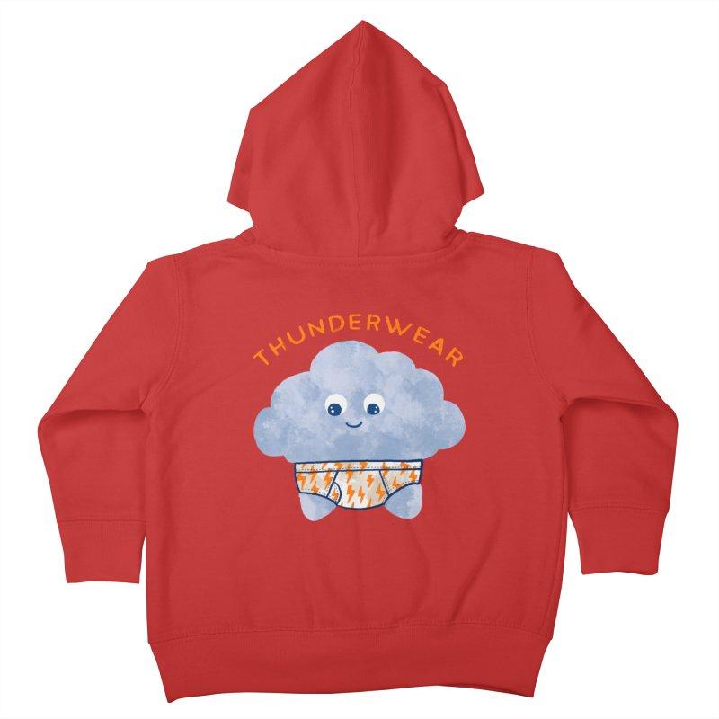 Thunderwear Kids Toddler Zip-Up Hoody by kooky love's Artist Shop