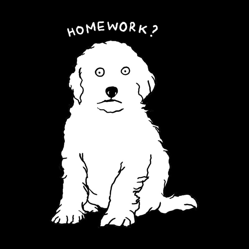 HOMEWORK ? Women's Scoop Neck by kooky love's Artist Shop