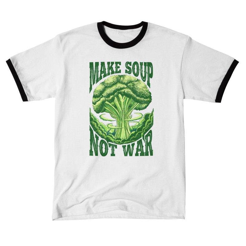 MAKE SOUP NOT WAR Women's T-Shirt by kooky love's Artist Shop
