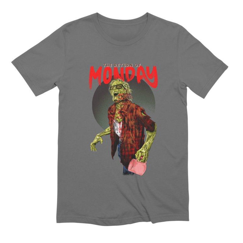THE RETURN OF MONDAY Men's T-Shirt by kooky love's Artist Shop