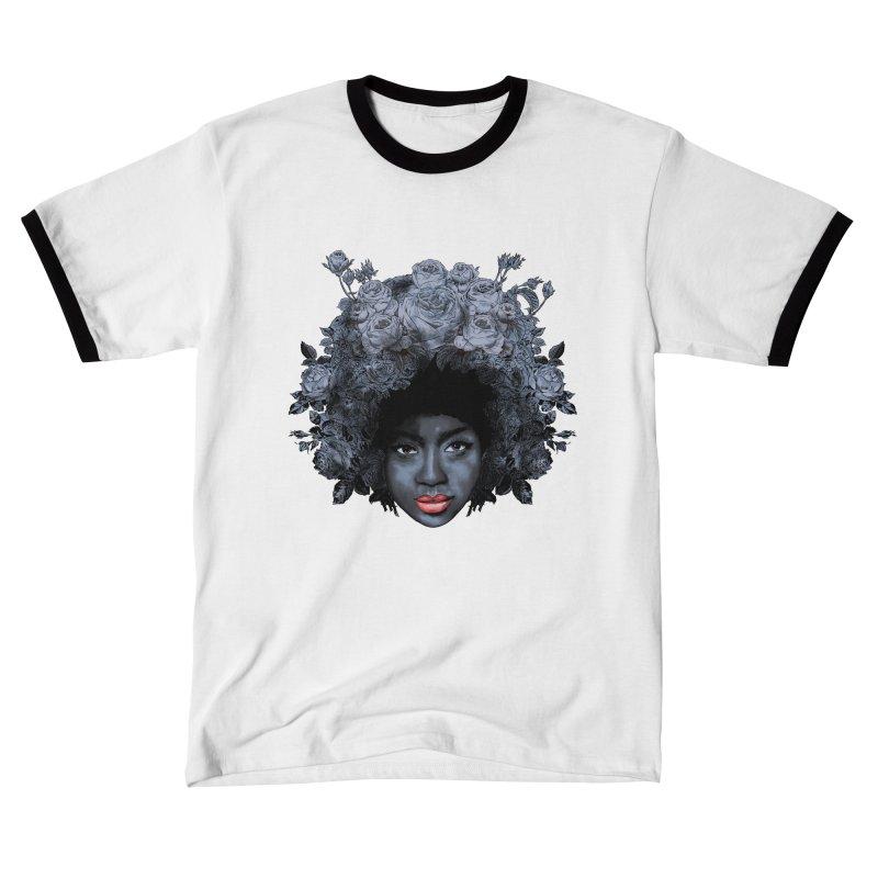 Black Rose Women's T-Shirt by kooky love's Artist Shop