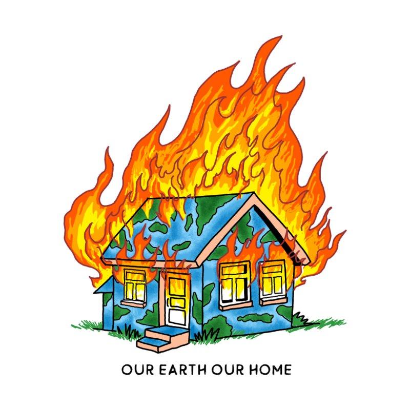 Global Burning Women's T-Shirt by kooky love's Artist Shop