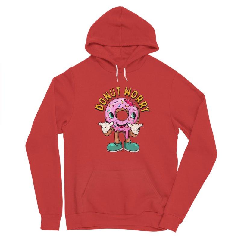 DONUT WORRY Women's Pullover Hoody by kooky love's Artist Shop