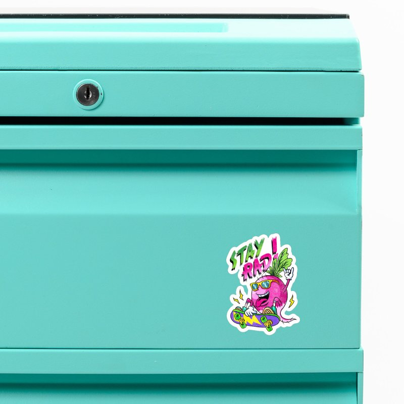 STAY RAD! Accessories Magnet by kooky love's Artist Shop