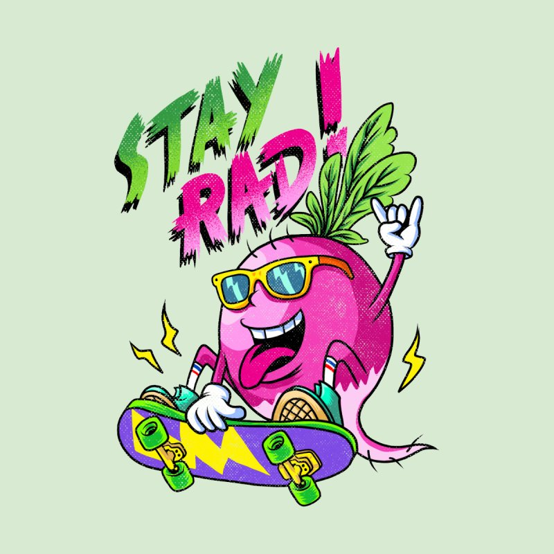 STAY RAD! Women's Pullover Hoody by kooky love's Artist Shop