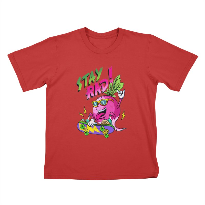 STAY RAD! Kids T-Shirt by kooky love's Artist Shop