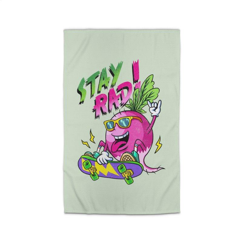 STAY RAD! Home Rug by kooky love's Artist Shop
