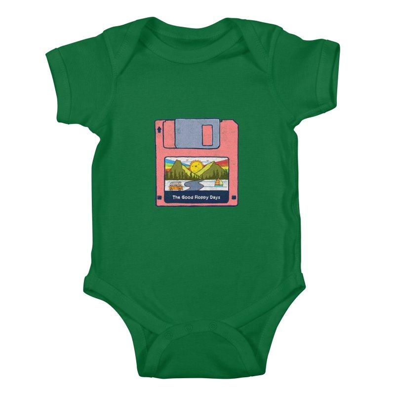 The Good Floppy Days Kids Baby Bodysuit by kooky love's Artist Shop