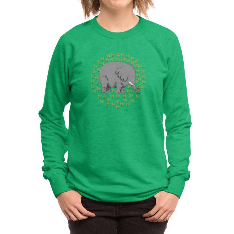 Relephant Women's Sweatshirt by kooky love's Artist Shop