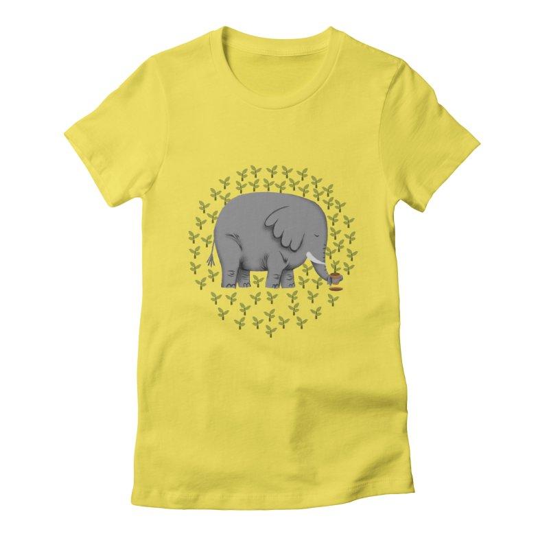 Relephant Women's T-Shirt by kooky love's Artist Shop