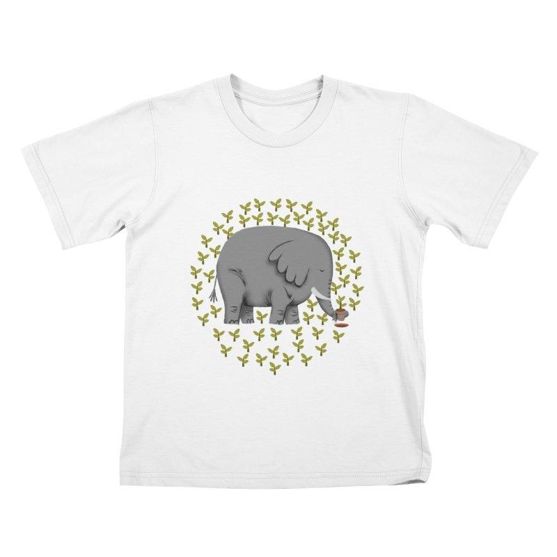 Relephant Kids T-Shirt by kooky love's Artist Shop
