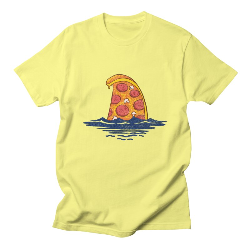 Pizzhark Men's T-Shirt by kooky love's Artist Shop