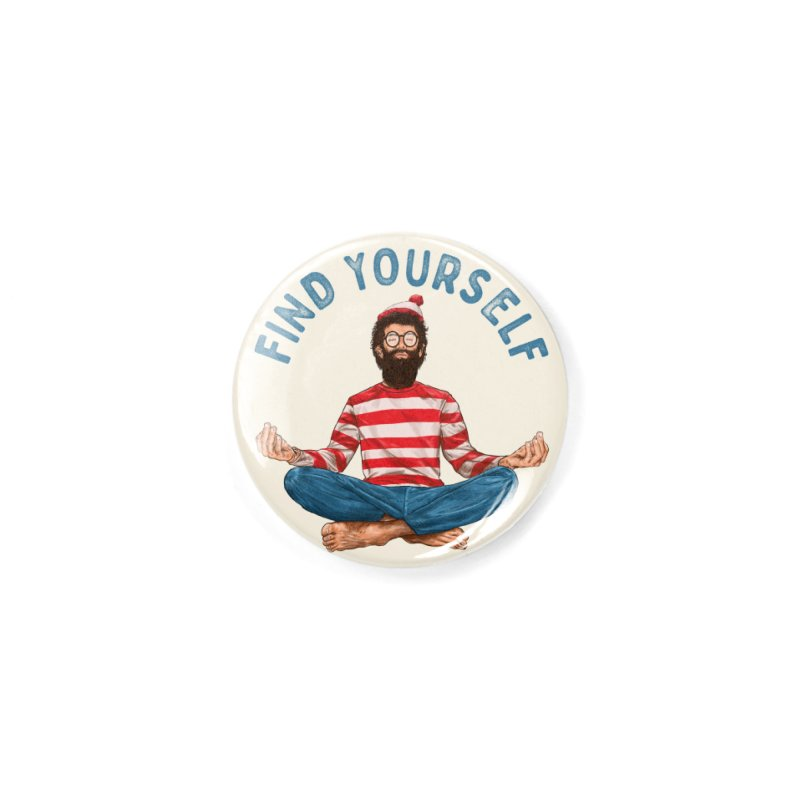 Find Yourself Accessories Button by kooky love's Artist Shop