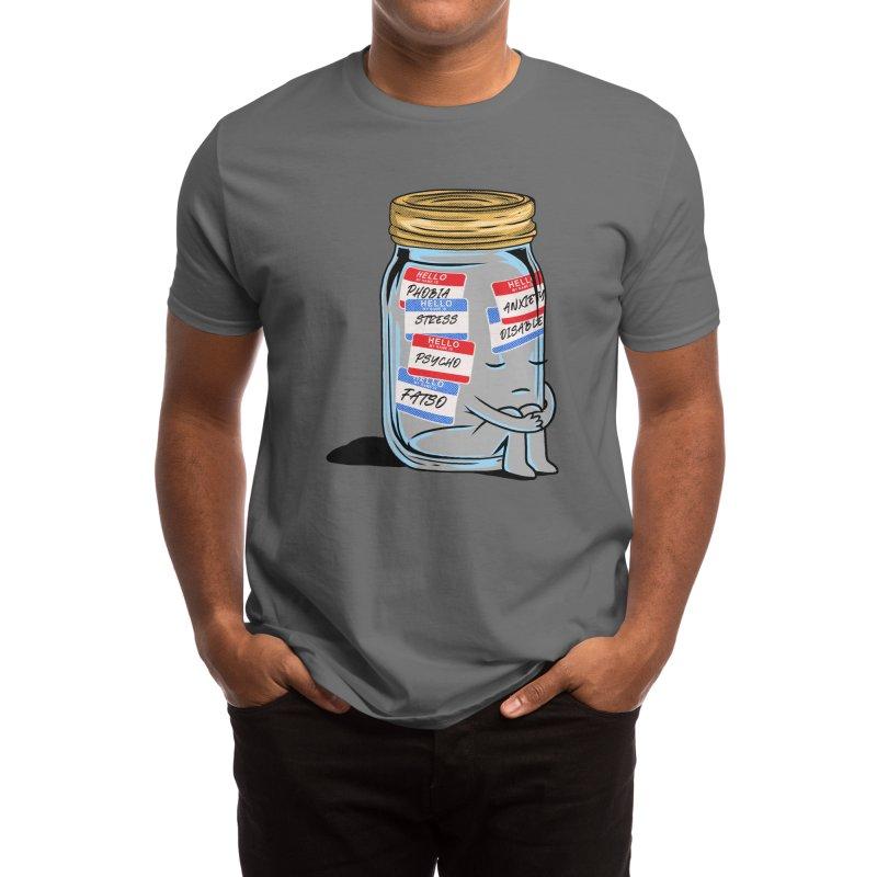 Labeling Men's T-Shirt by kooky love's Artist Shop