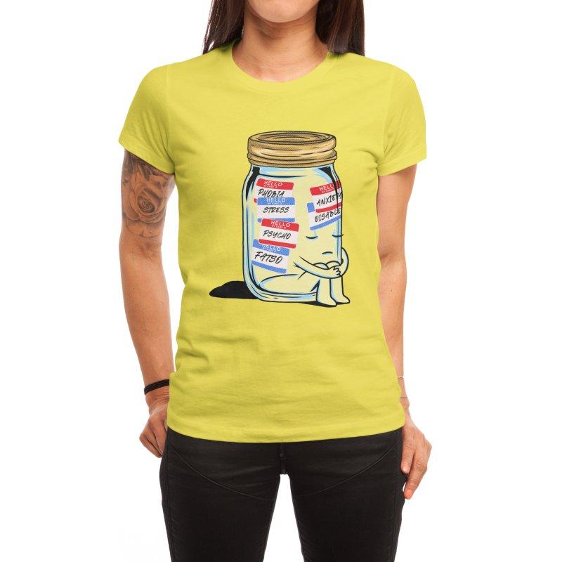 Labeling Women's T-Shirt by kooky love's Artist Shop