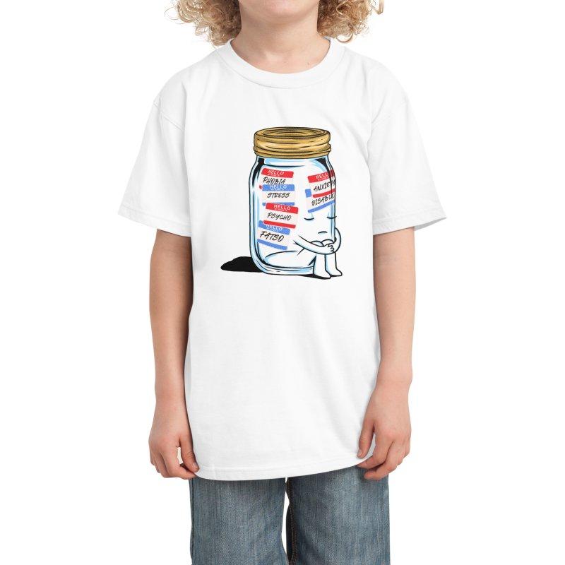 Labeling Kids T-Shirt by kooky love's Artist Shop