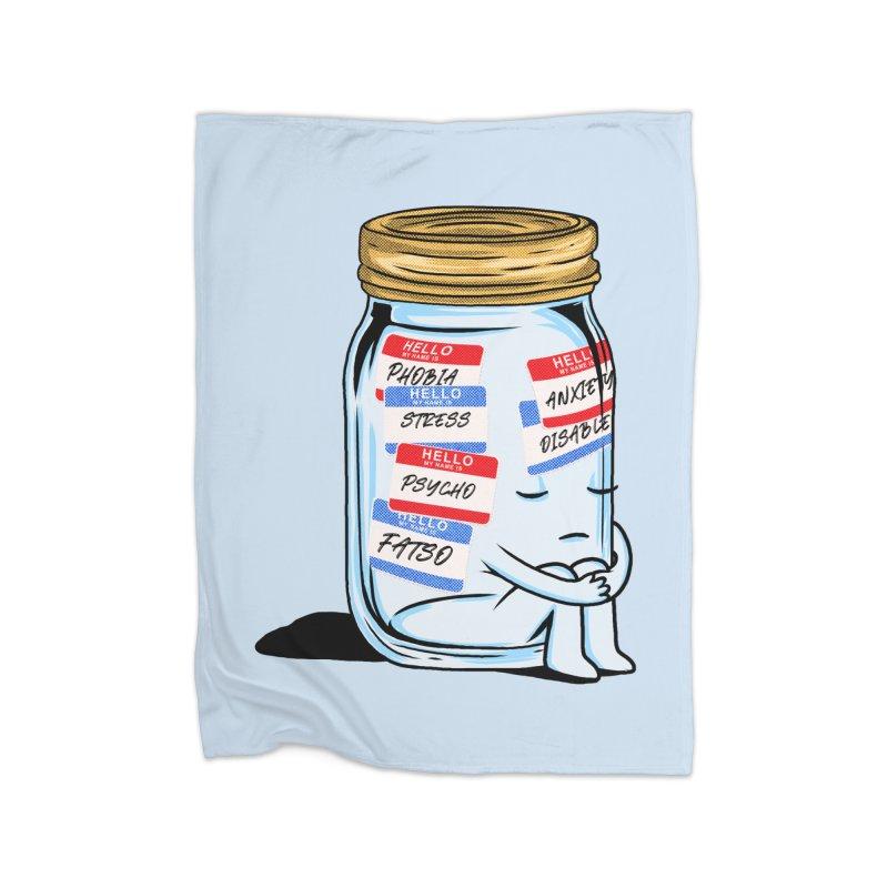 Labeling Home Blanket by kooky love's Artist Shop