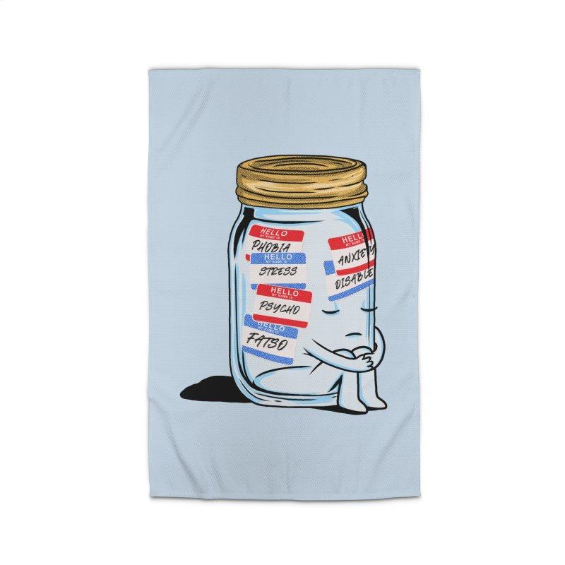 Labeling Home Rug by kooky love's Artist Shop