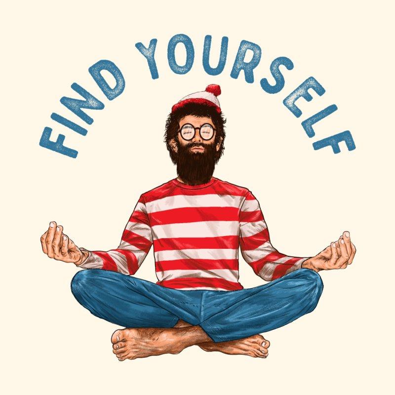 Find Yourself Men's T-Shirt by kooky love's Artist Shop